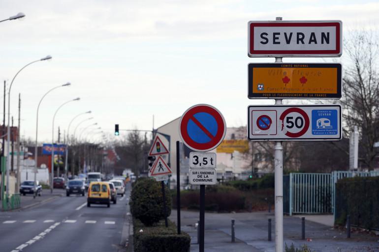 Vue de Sevran, le 7 janvier 2014