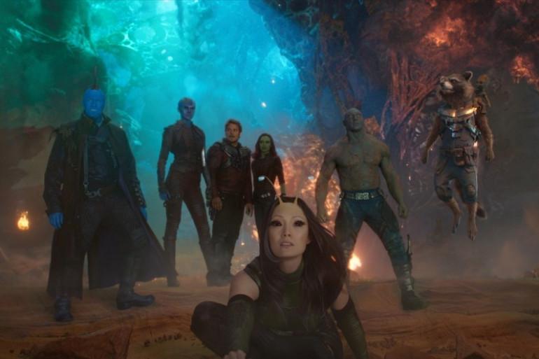 """L'équipe des """"Gardiens de la Galaxie 2"""""""