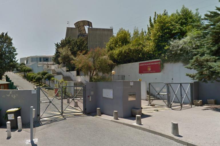 Le lycée Alexis de Tocqueville à Grasse, lieu de la fusillade