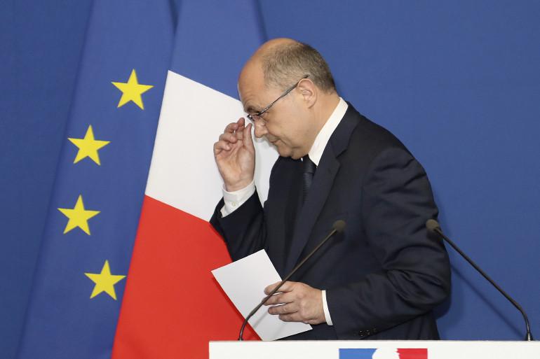 Bruno Le Roux, en Seine-Saint-Denis le 21 mars 2017