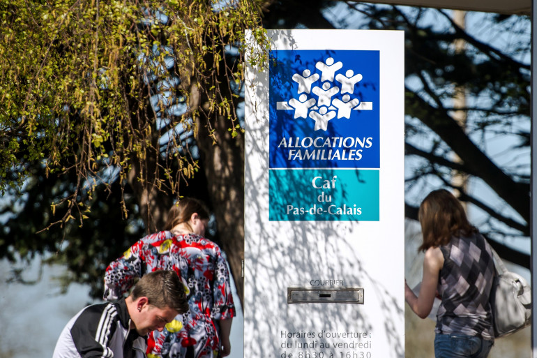 La Caisse d'allocations familiales de Calais, dans le Nord.