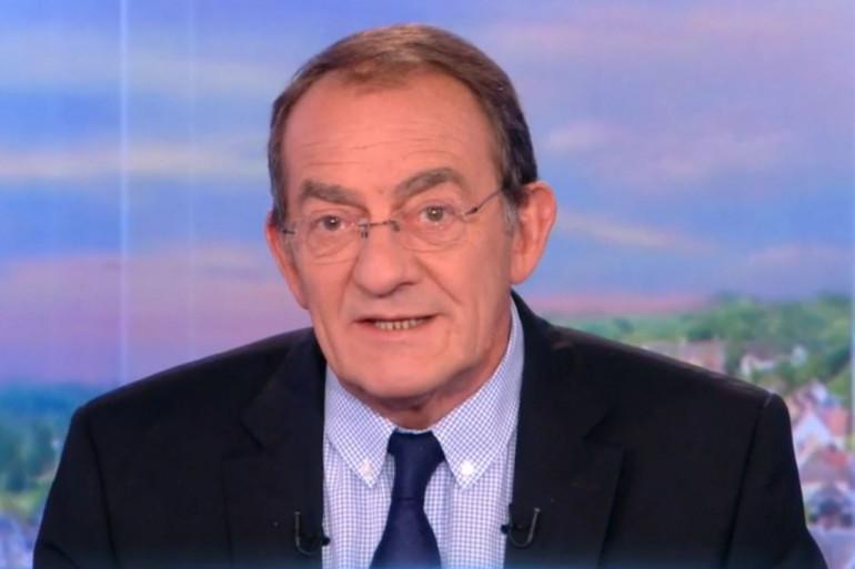 Jean-Pierre Pernaut à la présentation du JT de TF1