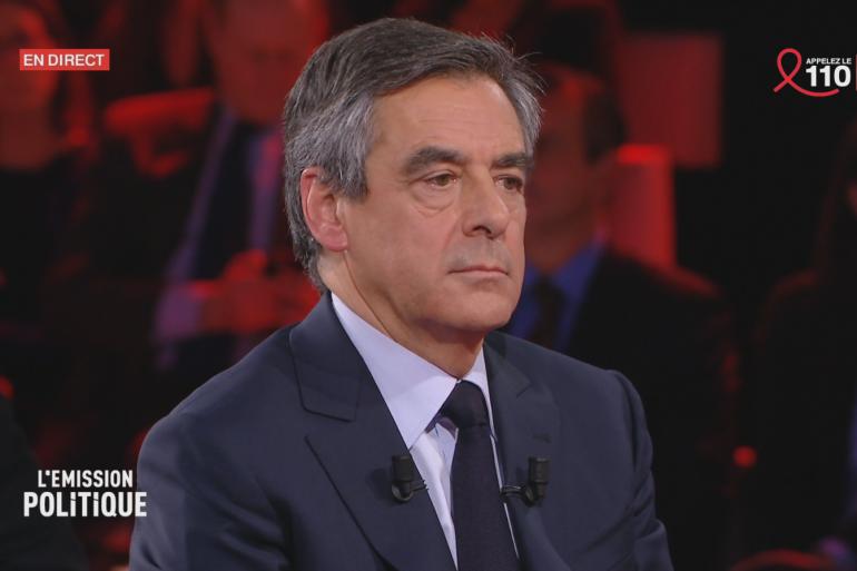 """François Fillon dans """"L'Émission Politique"""", du 23 mars 2017"""