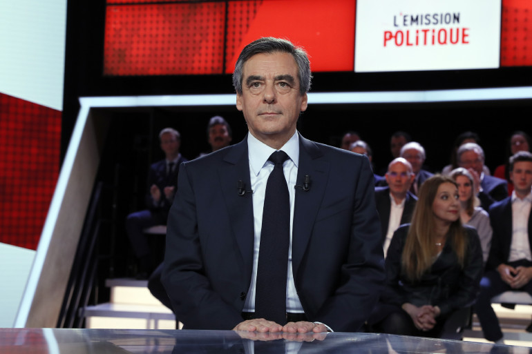 """François Fillon dans """"L'Émission Politique"""" le 23 mars 2017"""