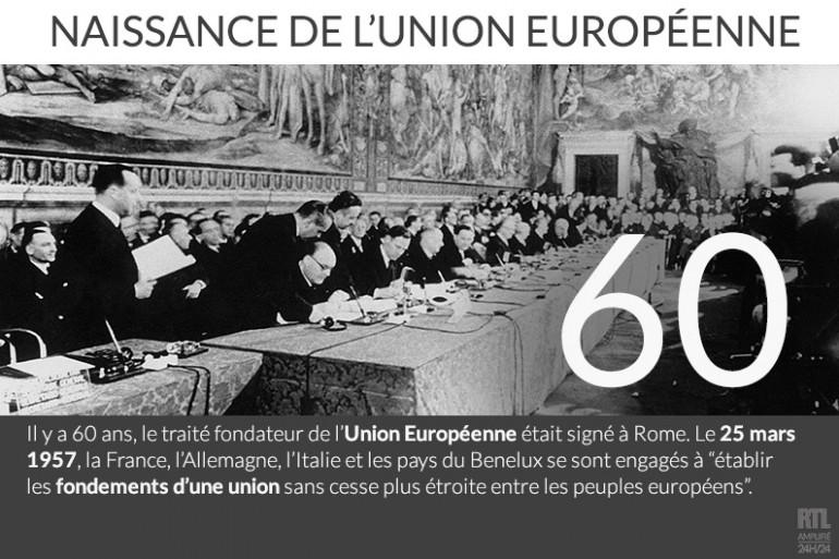 L'Union européenne fête ses 60 ans