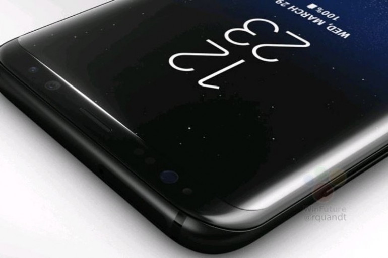 """Visuel dit """"officiel"""" du Galaxy S8 publié par WinFuture"""