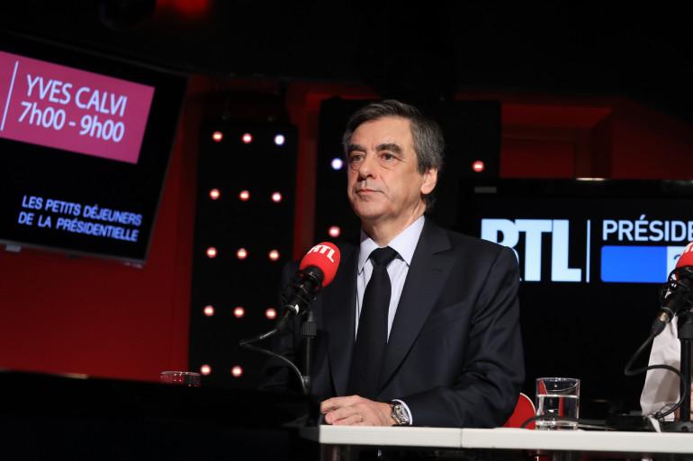 """""""Les petits-déjeuners de la présidentielle"""" : François Fillon sur RTL"""