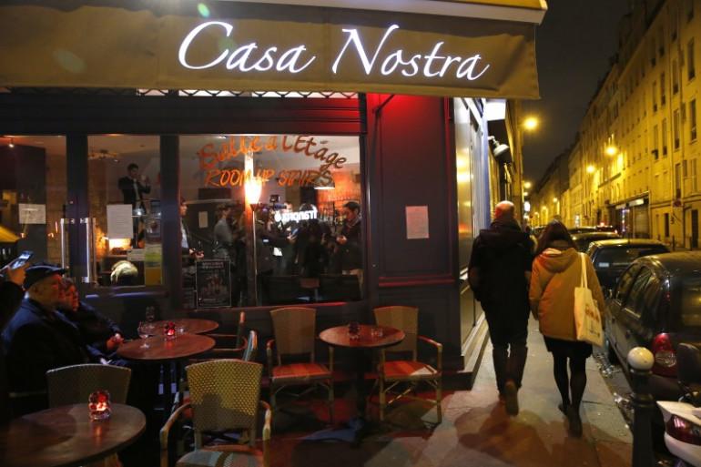 Le restaurant Casa nostra, cible des attentats, a rouvert le 5 février 2016
