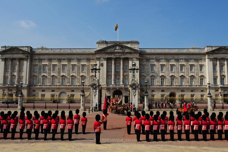 Une vue de Buckingham Palace, le 25 mai 2010 (Illustration)