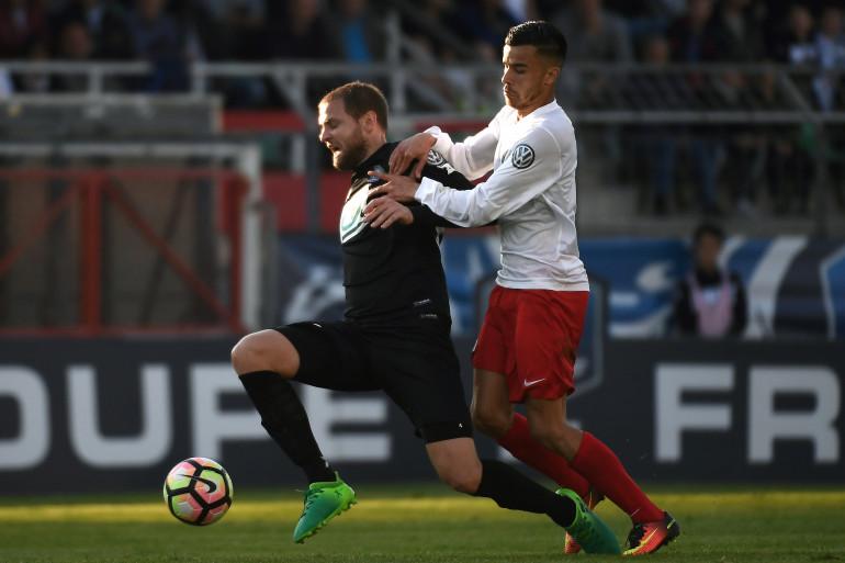 Mathieu Bodmer et les Guingampais s'imposent sur la plus petite des marges face au Fréjus de Karim Tlili