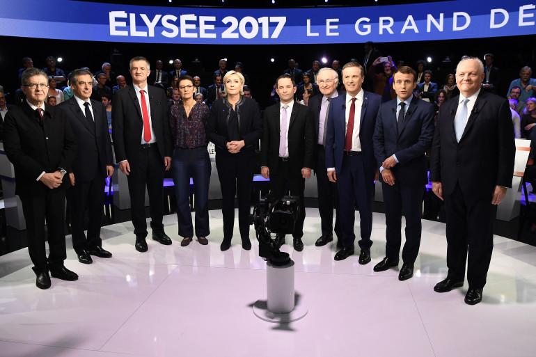 """""""Le Grand Débat"""" : Philippe Poutou refuse d'apparaître sur la photo officielle"""