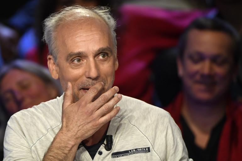 Philippe Poutou lors du débat de la présidentielle