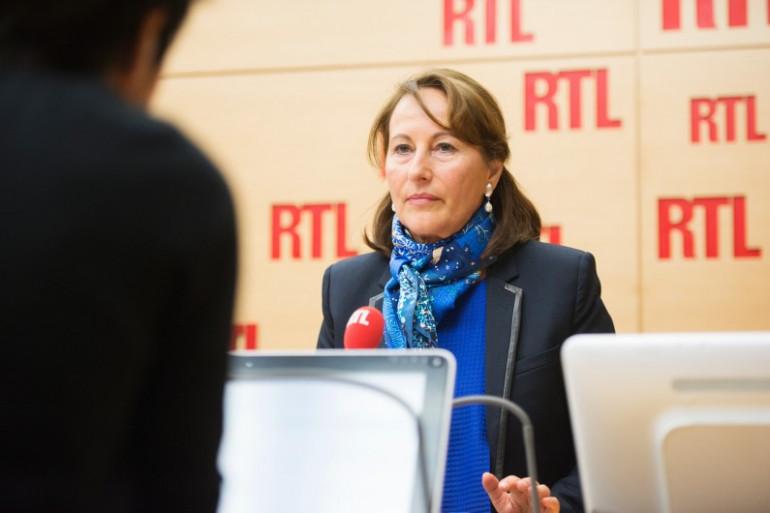 Ségolène Royal, la ministre de l'Environnement, le 07 avril 2017
