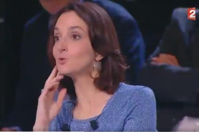 """Barbara Lefebvre, le 6 avril lors de """"L'Émission politique"""""""