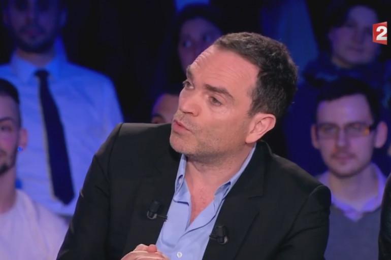 Yann Moix le 8 avril sur le plateau d'On n'est pas couché