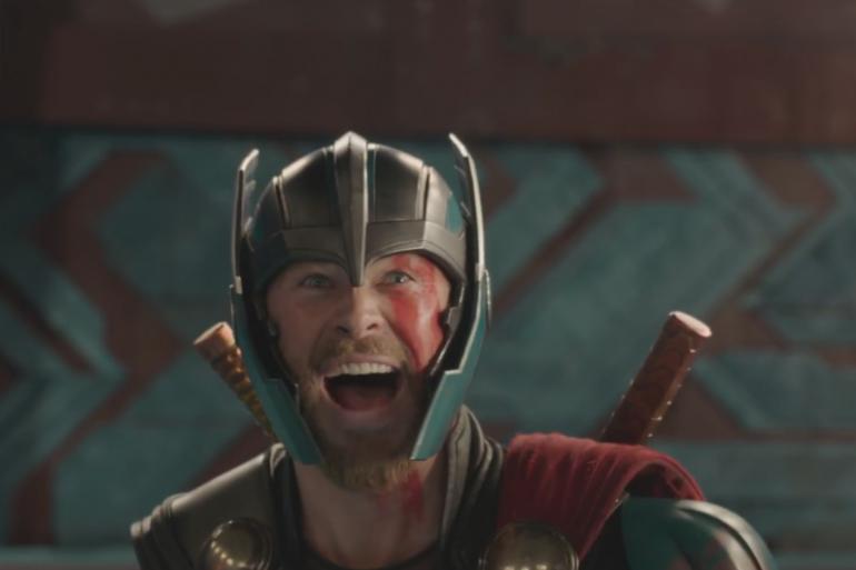 """Thor dans la première bande-annonce de """"Thor : Ragnarok"""""""