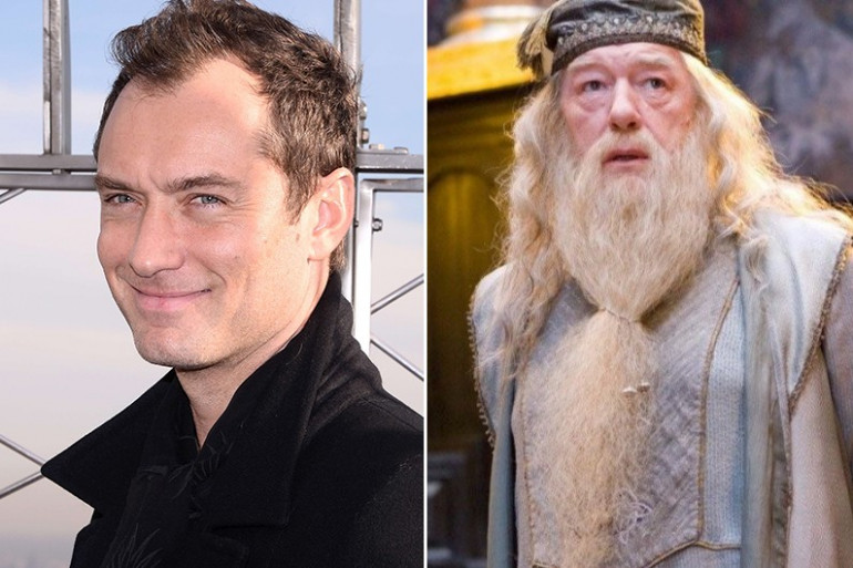 """Jude Law incarnera le jeune Dumbledore dans """"Les Animaux Fantastiques 2"""""""