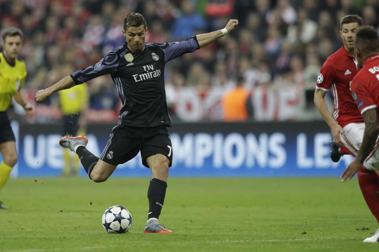 Cristiano Ronaldo mercredi 12 avril 2017 à Munich