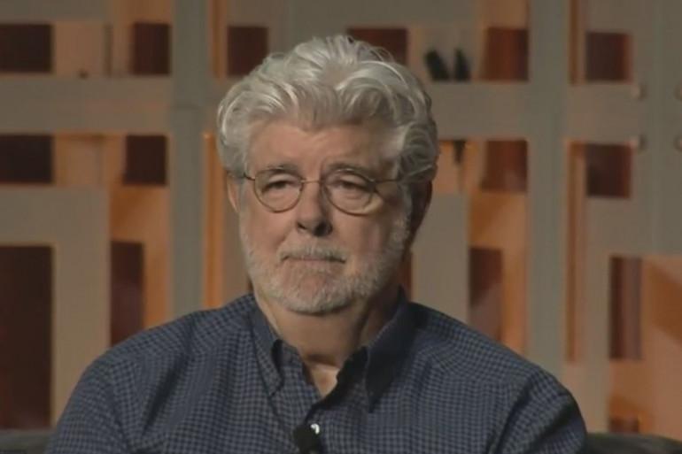 George Lucas à la Star Wars Celebration de 2017