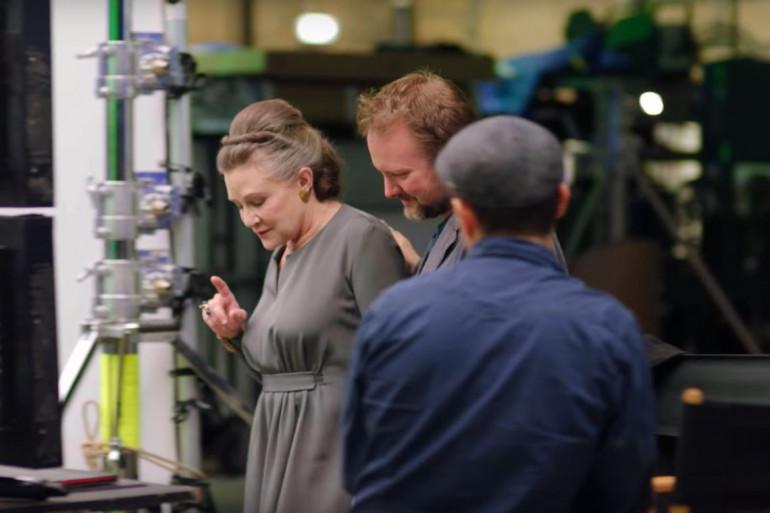 """L'un des futurs costumes de Carrie Fisher dans """"Star Wars 8"""" ?"""