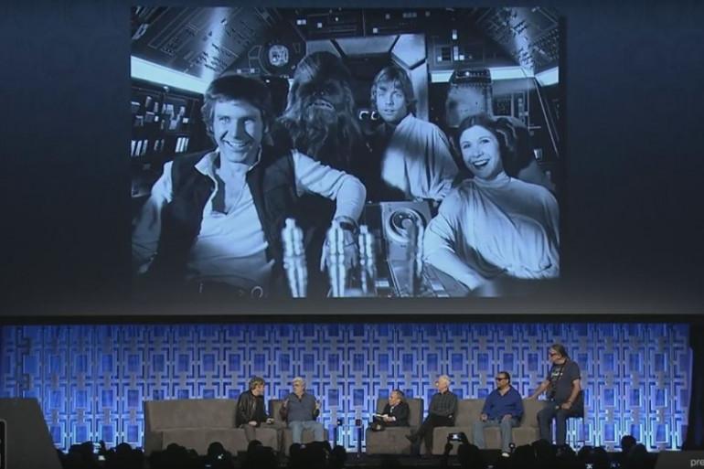"""L'incroyable panel pour les 40 ans de """"Star Wars"""" à Orlando"""