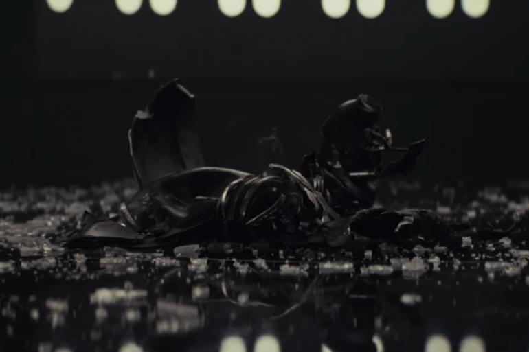 Le masque de Kylo Ren a été détruit