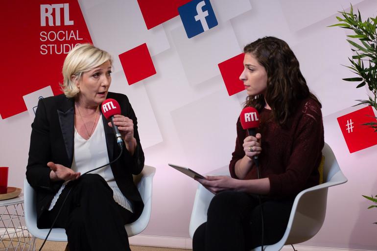 Marine Le Pen a répondu aux questions des internautes