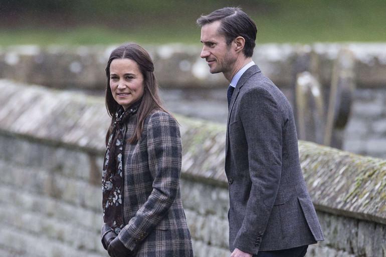 Pippa Middleton et James Matthews ensemble à Noël en 2016