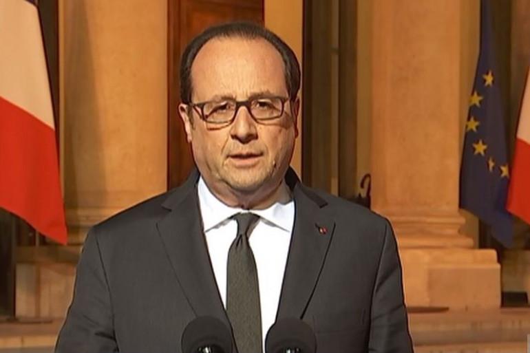 François Hollande réagit sur l'attaque des Champs-Élysées le 20 avril 2017