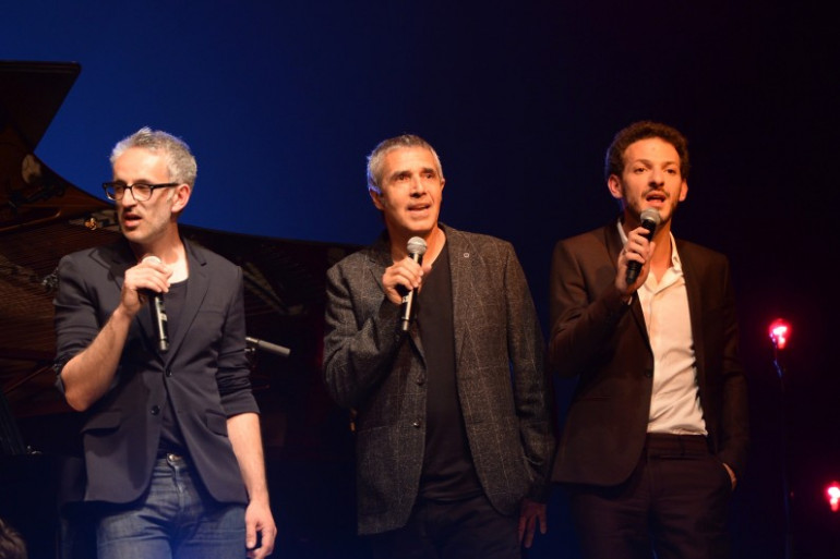 Vincent Delerm, Julien Clerc et Vincent Dedienne chantent Barbara au Printemps de Bourges