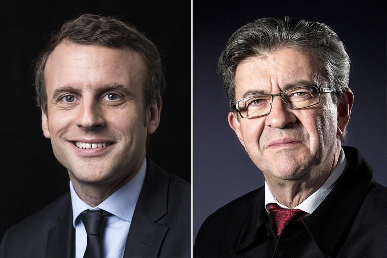 Présidentielle 2017 : Macron et Mélenchon