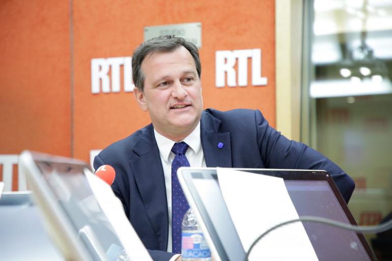 Louis Aliot, vice-président du Front national, le 24 avril 2017