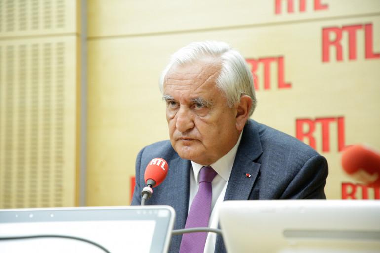 Jean-Pierre Raffarin était l'invité de RTL le 24 avril 2017