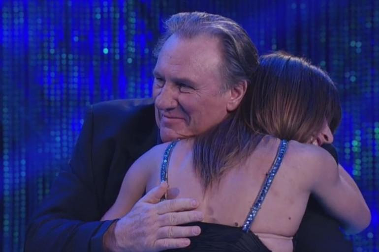 """Gérard Depardieu invité de la version italienne """"Danse avec les Stars"""""""
