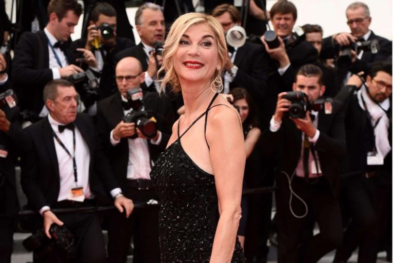 Michèle Laroque au Festival de Cannes