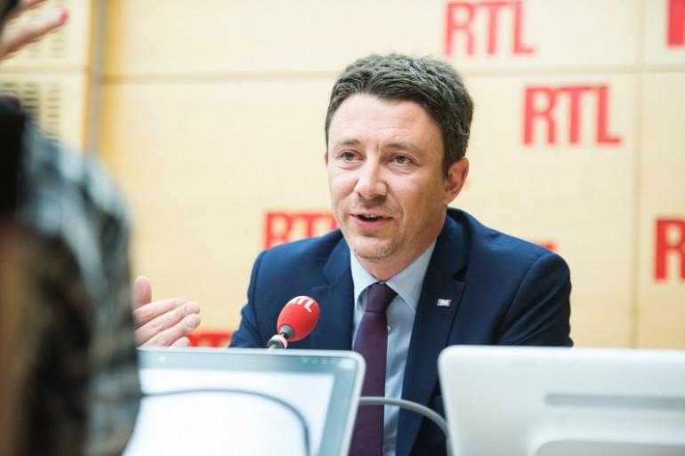 Benjamin Griveaux, porte-parole d'Emmanuel Macron le 26 avril 2017