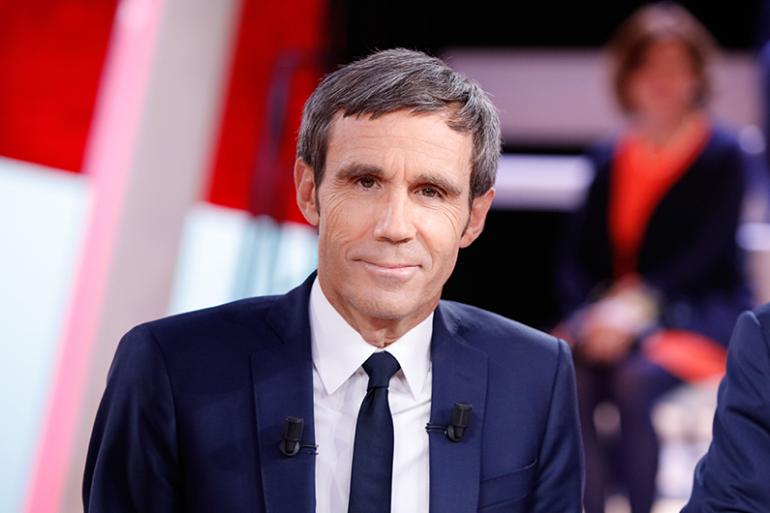 """Le présentateur du JT de """"France 2"""", David Pujadas"""