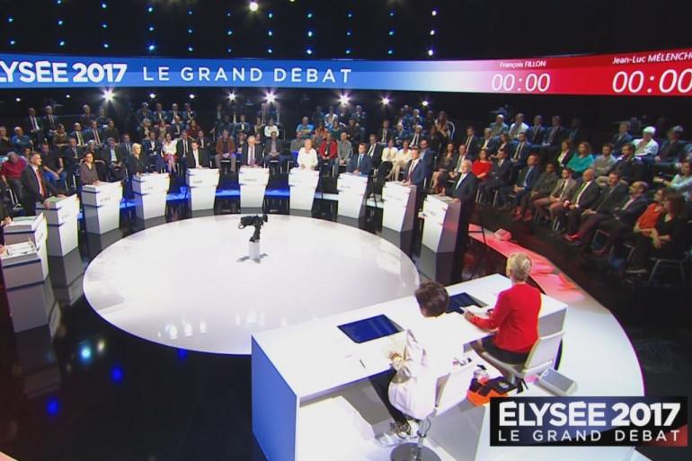 Plateau du Grand Débat BFMTV / CNEWS