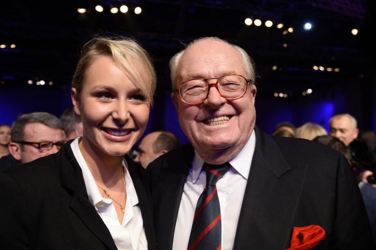Jean-Marie Le Pen et sa petite-fille Marion Maréchal-Le Pen