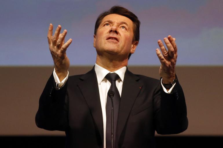 Christian Estrosi (LR), jusqu'alors président de la région PACA, démissionne lundi 8 mai
