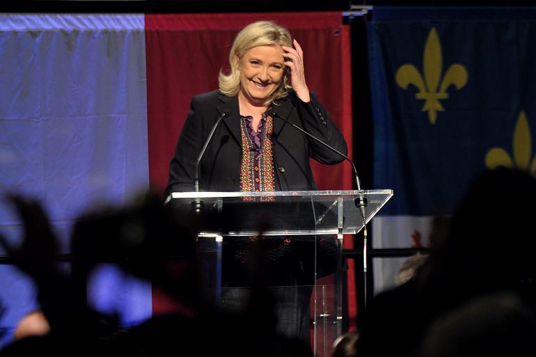 Marine Le Pen, candidate Front national à la présidentielle 2017