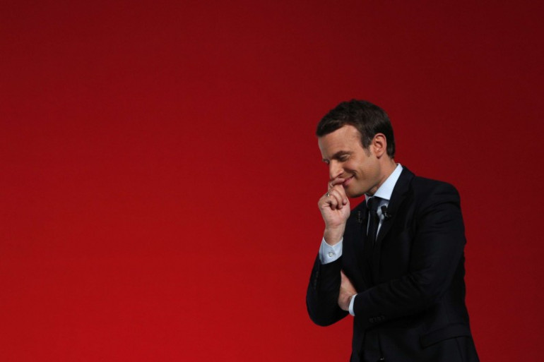 Emmanuel Macron à Châtellerault, le 28 avril 2017