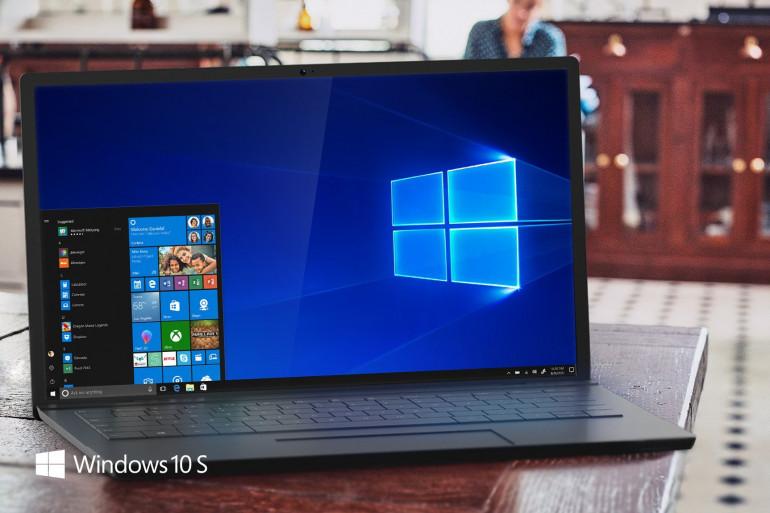 Microsoft lance une version alle´ge´e de Windows 10 taille´e pour le marche´ e´ducatif
