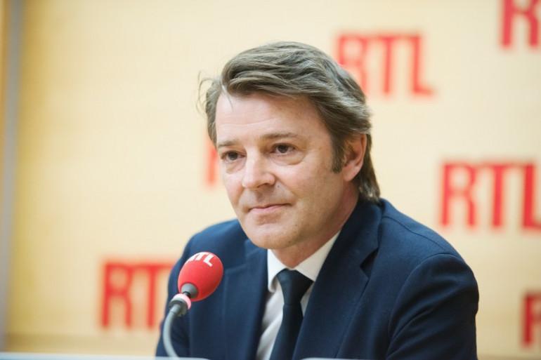 François Baroin, sénateur-maire (Les Républicains) de Troyes le 3 mai 2017