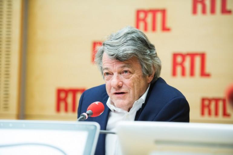 Jean-Louis Borloo, ancien ministre et ancien dirigeant centriste et soutien d'Emmanuel Macron, le 4 mai 2017