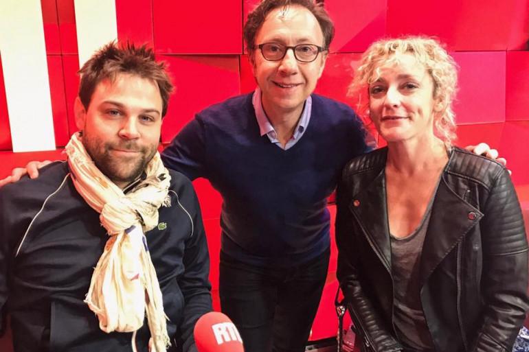 Juliette Arnaud, Arthur Jugnot et Stéphane Bern