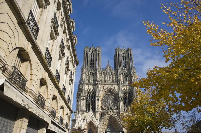 La cathédrale de Reims (illustration).