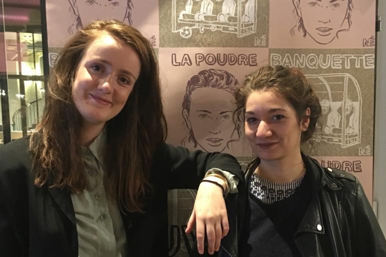 """Andréane Meslard et Camille Romano, les deux auteurs de """"Parti Pris"""""""