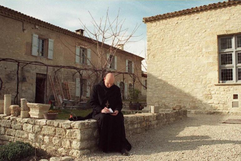 Le monastère de Ganagobie, dans les Alpes-de-Haute-Provence.