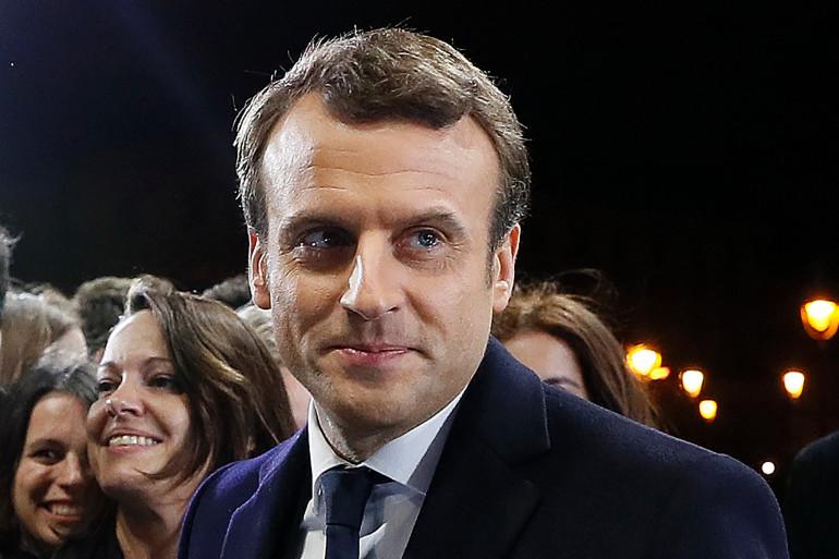 Emmanuel Macron, le 7 mai 2017 à Paris